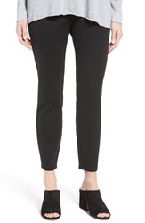 Eileen Fisher Women's Heavyweight Knit Slim Ankle Zip Pants