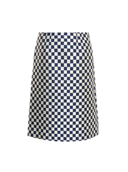 Marc By Marc Jacobs Checkerboard Jacquard Twill Skirt
