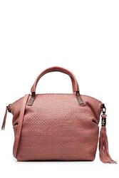Henry Beguelin Woven Leather Tote Gr. One Size