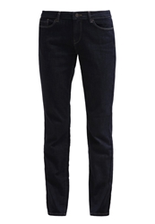 Esprit Straight Leg Jeans Raw Rinse Dark Blue