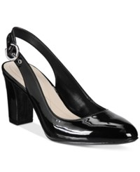 Alfani Women's Laylaa Slingback Pumps Only At Macy's Women's Shoes Black