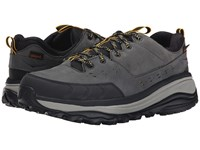 Hoka One One Tor Summit Wp Steel Grey Golden Rod Running Shoes Black