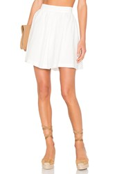 Line And Dot Concorde Full Skirt White
