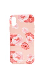 Marc Jacobs Lips Printed Iphone X Iphone 8 Case Pink Multi