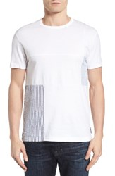 French Connection Men's Patchwork T Shirt