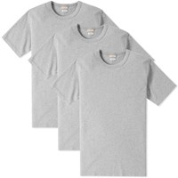 Visvim Sublig Crew Tee 3 Pack Grey