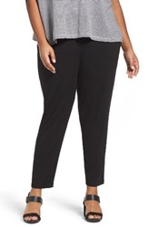 Eileen Fisher Plus Size Women's Crop Stretch Knit Pants