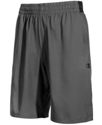 Champion Men's Hybrid Woven Shorts Shadow Gray