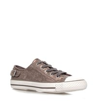 Kurt Geiger Liberty Low Top Trainers Female Bronze