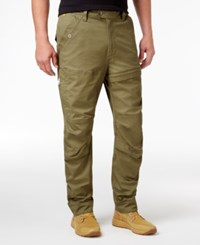 G Star Raw Men's Rackam Slim Fit Tapered Cargo Pants Shamrock