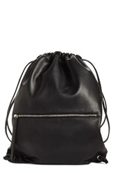 Phase 3 Faux Leather Sling Backpack