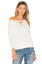 Lovers Friends Yacht Sweater Light Gray