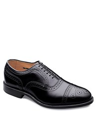 Allen Edmonds Strand Leather Brogue Oxfords Black