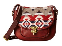 Pendleton Refined Saddle Bag Mountain Majesty Cross Body Handbags Brown