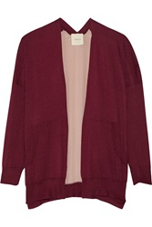Mason By Michelle Mason Cashmere And Silk Cardigan