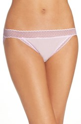Exofficio Women's Give N Go Lace Trim Sport Bikini Light Grape