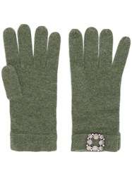 Max And Moi Classic Gloves Green