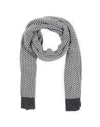 Daniele Alessandrini Accessories Oblong Scarves Men Steel Grey