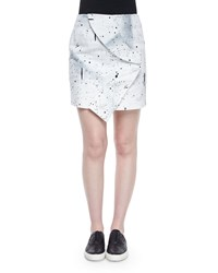 Opening Ceremony Bandana Twist Mini Skirt Size M White Multi