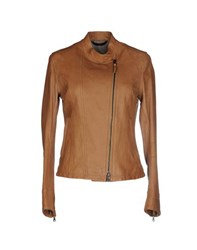 Jacob Cohen Jacob Coh N Coats And Jackets Jackets Women Brown