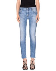 Htc Denim Denim Trousers Women