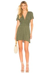 Auguste Polly Goldie Mini Dress Green