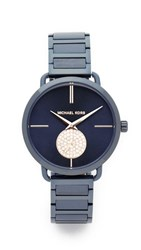 Michael Kors Portia Watch Navy Rose Gold