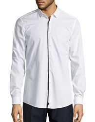 Strellson Slim Fit Dress Shirt White