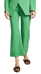 Laveer Cropped Annie Trousers Kelly Green