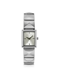 Leonardo Delfuoco Samantha Stainless Steel Watch Silver