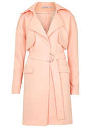 Finders Keepers Timewaster Pink Crepe Coat