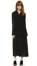 Georgia Alice Holiday Shirtdress Black