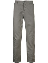 Transit Slim Fit Chino Trousers Grey