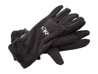 Outdoor Research Fuzzy Gloves Black Extreme Cold Weather Gloves
