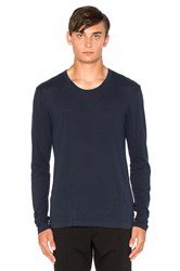 Cotton Citizen The Lennon Long Sleeve Tee Blue
