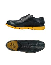 Barracuda Lace Up Shoes Dark Green