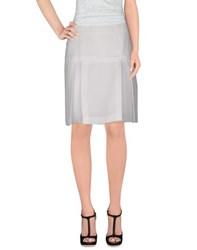 Compagnia Italiana Skirts Knee Length Skirts Women White
