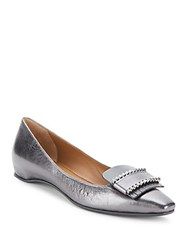 Aquatalia By Marvin K Monica Leather Pumps Anthracite