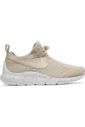 Nike Aptare Toggle Detailed Textured Knit Sneakers Beige