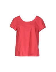 .. Merci Shirts Blouses Women Red