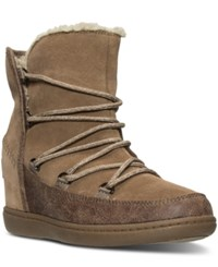 Skechers Women's Plus 3 Boots From Finish Line Light Brown