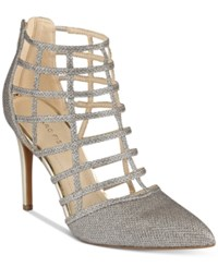 Marc Fisher Naples Caged Pumps Women's Shoes Gold