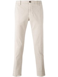 Incotex Slim Fit Chinos Nude Neutrals