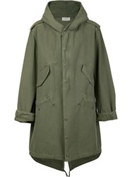 Faith Connexion Tail Parka Green