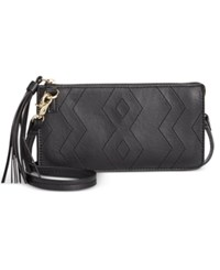 Inc International Concepts Austin Convertible Crossbody Pouch Only At Macy's Black
