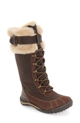 Jambu Women's 'Williamsburg' Waterproof Tall Boot Antique Brown Leather