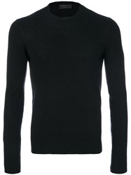 Prada Crew Neck Sweater Cashmere Black