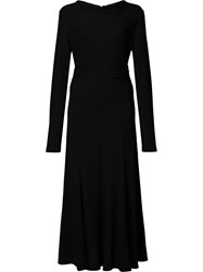 Derek Lam Long Sleeve Dress Black