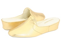 Daniel Green Glamour Ii Gold Kidskin Women's Slippers