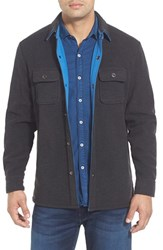Men's Big And Tall Tommy Bahama 'Twill Murray' Shirt Jacket